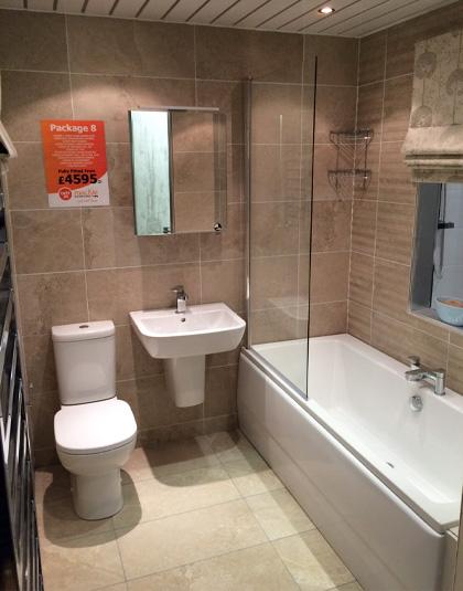 Package 8 Mackie Bathrooms