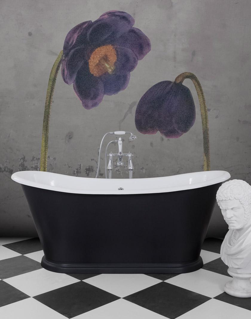 Caravel Bateau Cast Iron Bath - Mackie Bathrooms