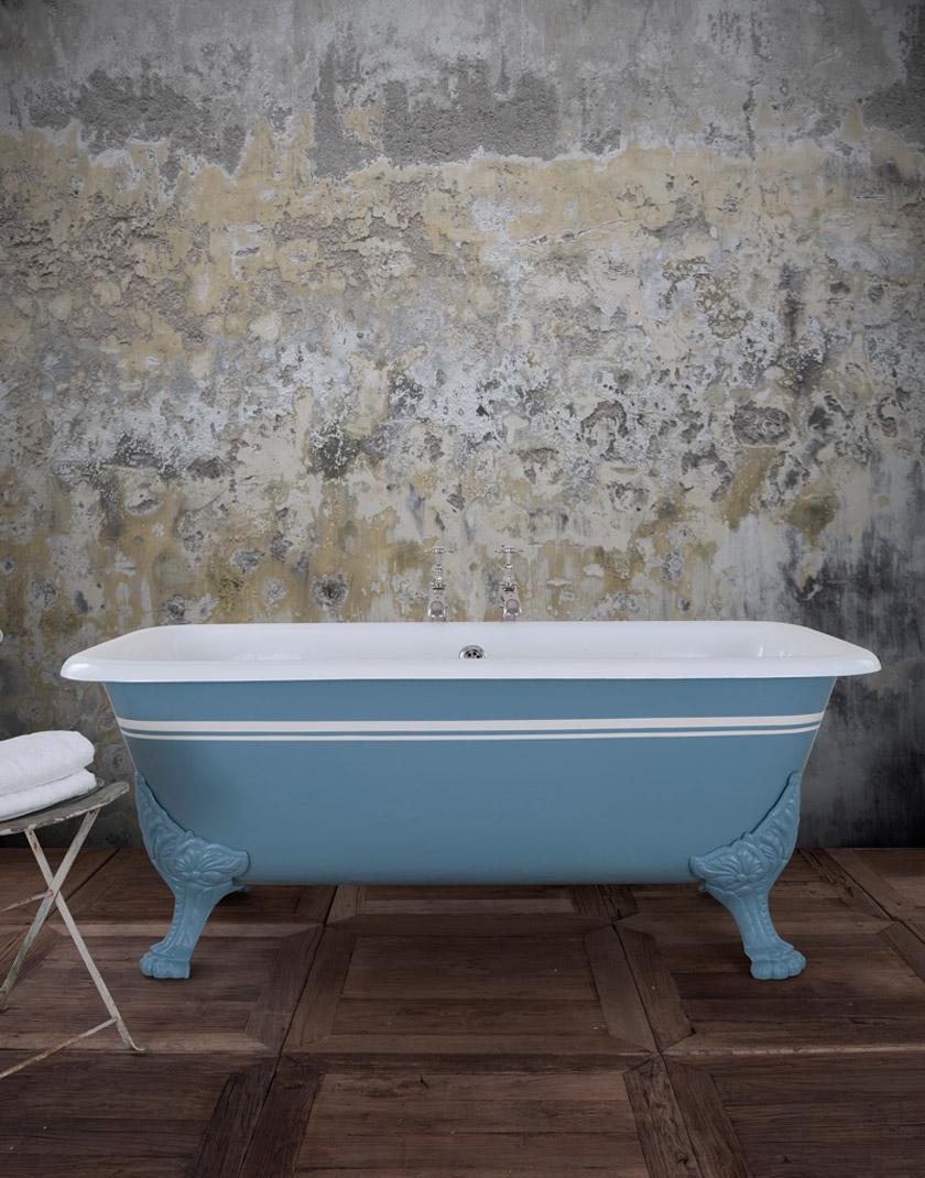 Roman Cast Iron Bath - Mackie Bathrooms